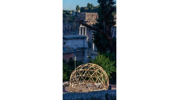 Our Dome at the Capitoline Hill in Rome